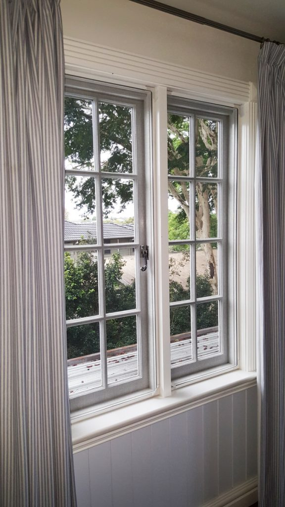 Magnetic fly screens can be made to fit windows of most types and sizes, simply and easily.