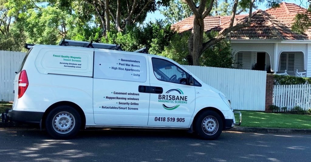 Brisbane Magnetic Screens, Magnetic Insect, Fly & Bug Screens in Brisbane for Windows, Doors and Security Grilles.